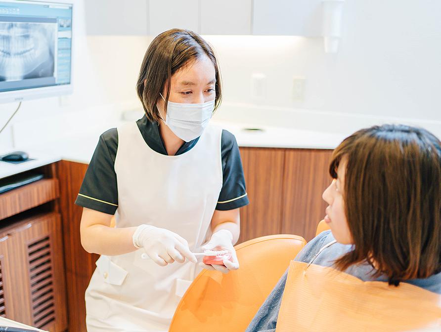 馬車道アイランドタワー歯科|ブログ|歯の寿命に関わる定期検診の重要性|定期検診の画像